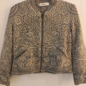 Zara embroidered jacket NWT